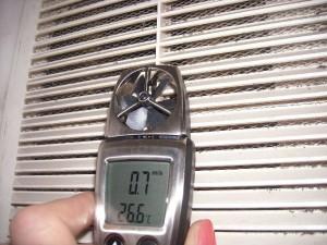 Анемометр для проверки вентиляции