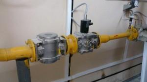 Монтаж газового облорудования котельной
