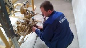 Обслуживание газопроводов и газового оборудования