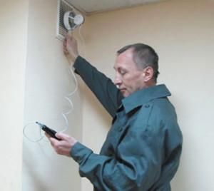 Проверка дымоходов и вентканалов