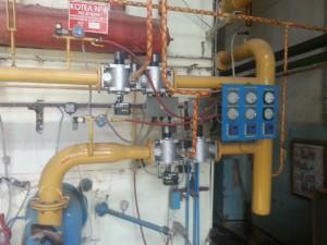 Реклнструкция газопровода